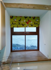 Cottage Roman Blinds Featuring Country Style Print