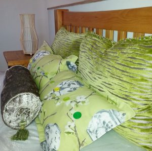 Interior design ideas - Green Bedroom