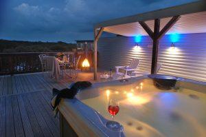 St Ives Coastal Luxury Outdoor Cabana at Retallack Resort