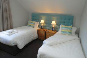 St Ives Coastal Twin Room at Retallack Resort
